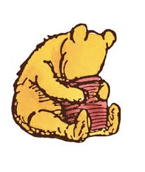 I am never going to see Pooh any other way than as Ernest H. Shepard conceived him.